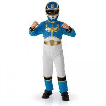Déguisement de Power Rangers Bleu Megaforce