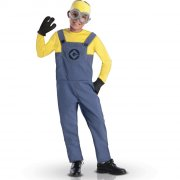 Déguisement Minion Dave - Luxe Taille 3-4 ans