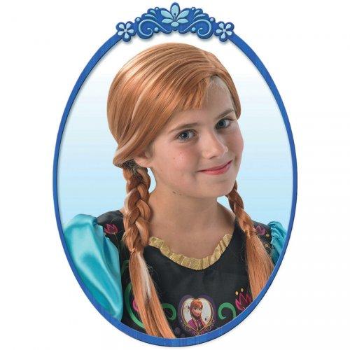 Perruque Anna Reine des Neiges