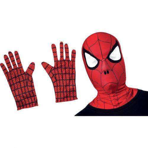 Set Déguisement Spiderman Gants + Masque - Enfant