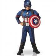 Déguisement Captain América 2 rembourré