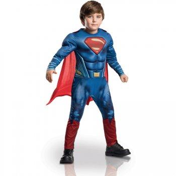 Déguisement de Superman 3D rembourré