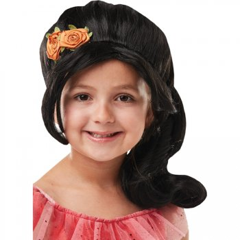 Perruque Elena d Avalor Enfant