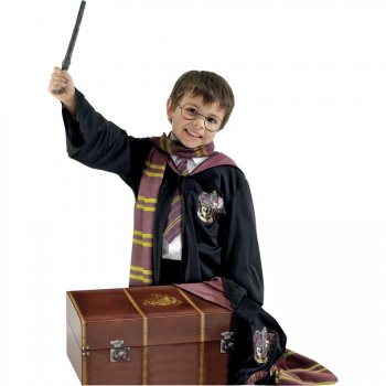 Coffre + Déguisement Harry Potter