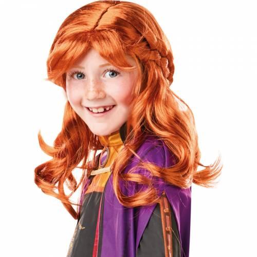 Perruque Anna La Reine des Neiges 2