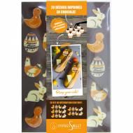 1 Kit Spécial Joyeuses Pâques - Chocolat Blanc