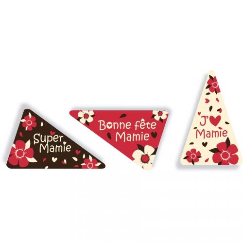 1 Plaquette Bonne Fête Mamie - Chocolat