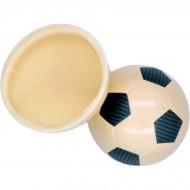 2 Demi Ballons de Foot (Ø 7 cm) - Chocolat Blanc