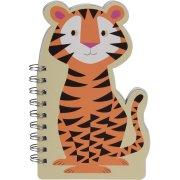 Cahier à Spirales Tigre Colorama (19 cm)
