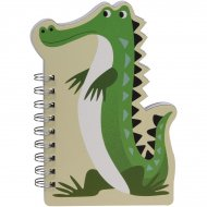 Cahier à Spirales Crocodile Colorama
