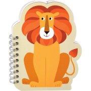 Cahier à Spirales Lion Colorama (19,5 cm)