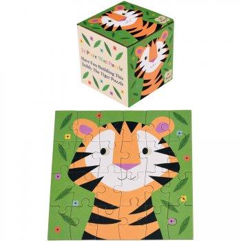 Mini Puzzle Tigre Colorama - 24 pièces