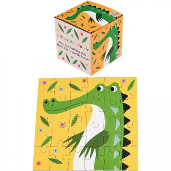 Mini Puzzle Crocodile Colorama - 24 pièces