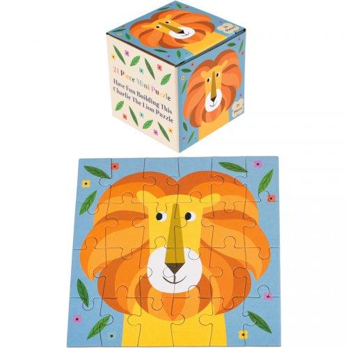 Mini Puzzle Lion Colorama - 24 pièces