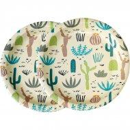 8 Assiettes Cactus Collection