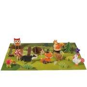 Mini théâtre Animaux de la Forêt 3D