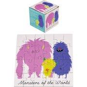 Mini Puzzle 24 Pièces Monstres Rigolos