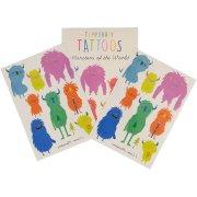 Tatouages Monstres Rigolos