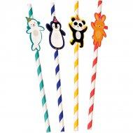 4 Pailles Panda Party