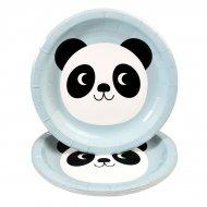 8 Petites Assiettes Miko le Panda