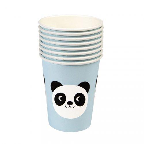 8 Gobelets Miko le Panda