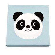 20 Petites Serviettes Miko le Panda