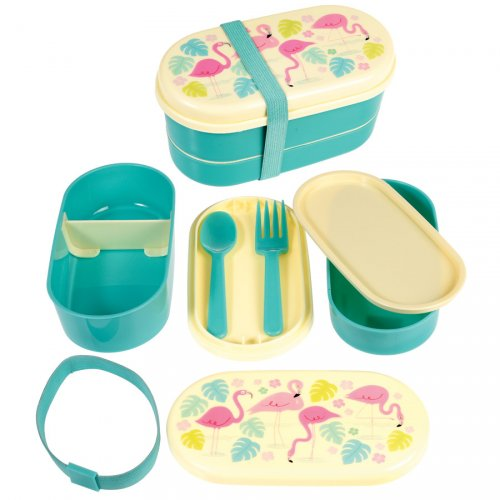 Lunch Box Flamant Rose Party