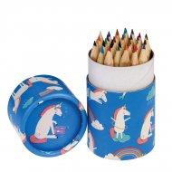 36 crayons de Couleur Licorne (8,5 cm)