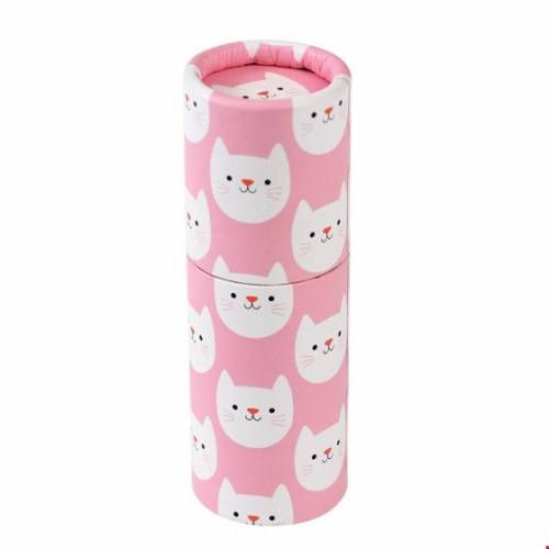 12 Crayons de Couleur - Cookie le Chat (8,5 cm)
