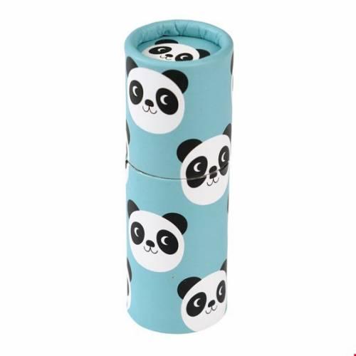 12 Crayons de Couleur - Miko le Panda (8,5 cm)