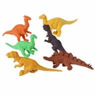 6 Gommes Dino Vintage