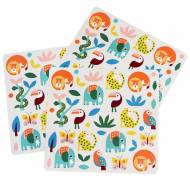 3 Planches de Stickers Animaux