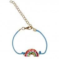 1 Bracelet à Pailettes Arc-en-ciel
