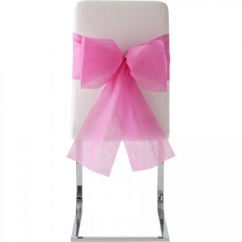 10 Noeuds de chaise rose Fuchsia