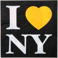 20 Serviettes Taxi New-York