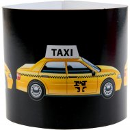 6 Rond de serviettes Taxi New-York