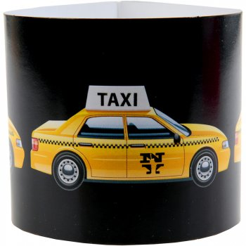 6 Rond de serviettes Taxi New-York