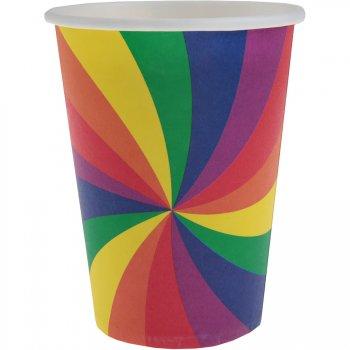 10 Gobelets Rainbow Twist