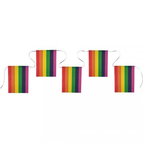 Guirlande fanions Rainbow flag