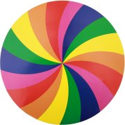 6 Sets de table Rainbow Twist