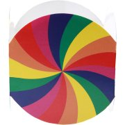 6 Ronds de serviettes Rainbow Twist