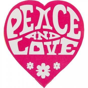 50 Stickers hippie Rose Fuchsia