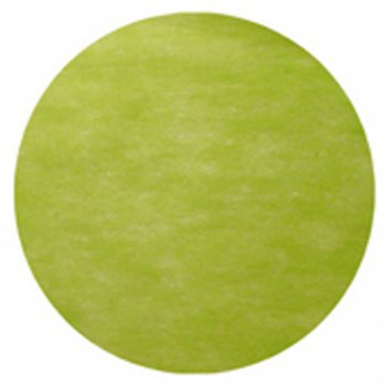 50 Sets de table rond Vert