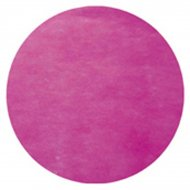 50 Sets de table rond Fuchsia