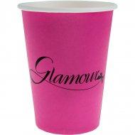 10 Gobelets Glamour Fuchsia