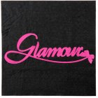 20 Serviettes Glamour Noir