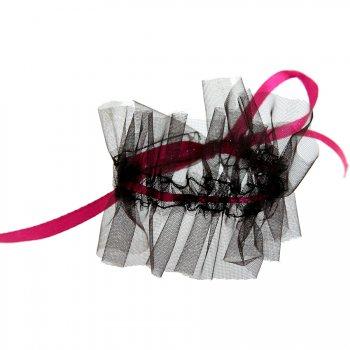 6 Ronds de serviette Glamour Noir