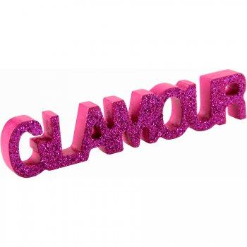 Mini stand Glamour Fuchsia glitter