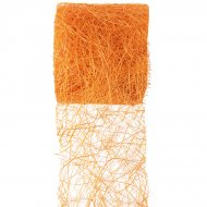 Ruban abaca Orange
