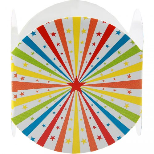 6 Ronds de serviettes Luna Park